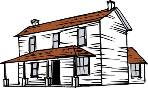 cartoon farm house clipart best
