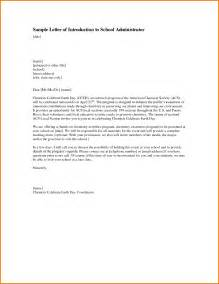 formal letter for principal formal letter template