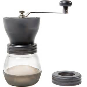 Burr Mill Coffee Grinder Manual Ceramic Burr Coffee Grinder Crank Coffee Mill