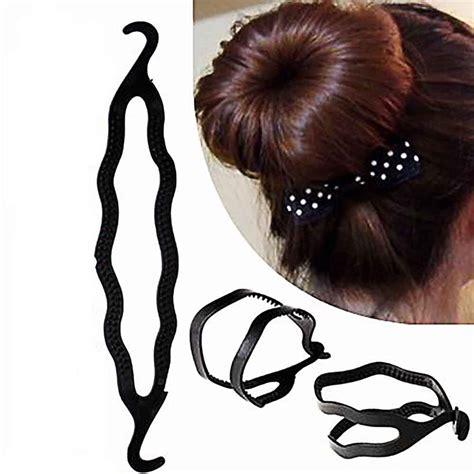 Chic Computer Chip Hair The Bag by Buy 4pcs Plastic Magic Easy Bun Hair Twist Braid Tool