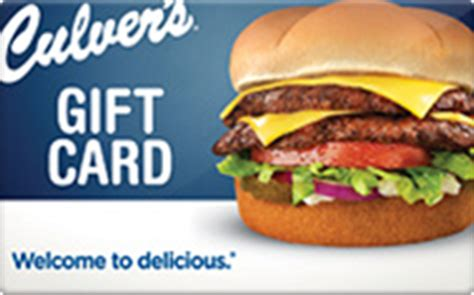 Culver S Gift Card - buy culver s gift cards raise