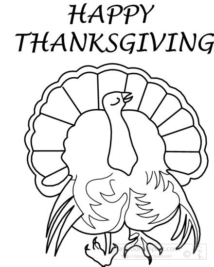 thanksgiving outline clipart 44 thanksgiving clipart clipart happy thanksgiving turkey bw