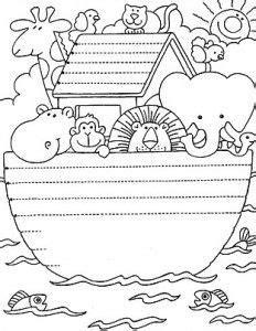 dibujos arca de noe para colorear … | El arca de noe