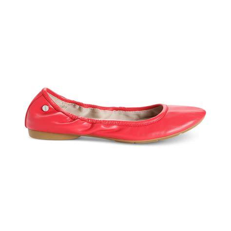 calvin klein shoes flats calvin klein prelia ballet flats in black lyst