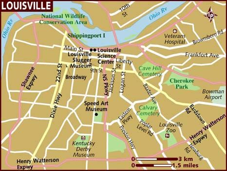 map usa louisville map of louisville