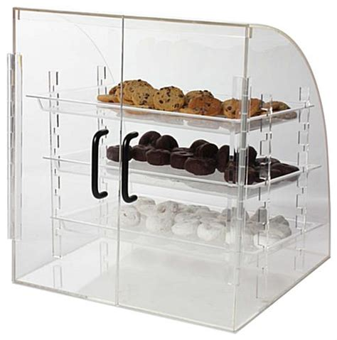 Countertop Food Display by Countertop Food Display Rear Loading Doors 3