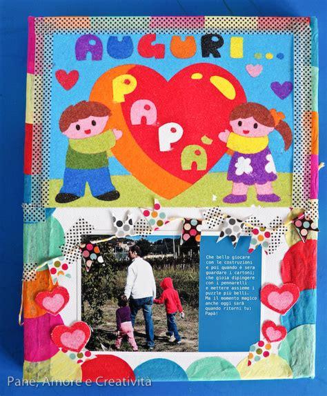 cornici per la festa pap lavoretto festa pap 224 un quadretto tutto colorato