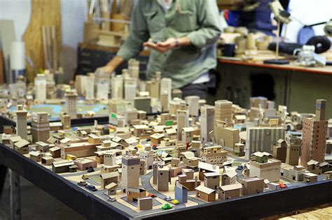 How To Make A City With Paper - kiel johnson s paper metropolis the fox is black