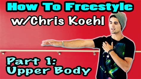 dance tutorial for beginners freestyle how to freestyle upper body waving hip hop dance
