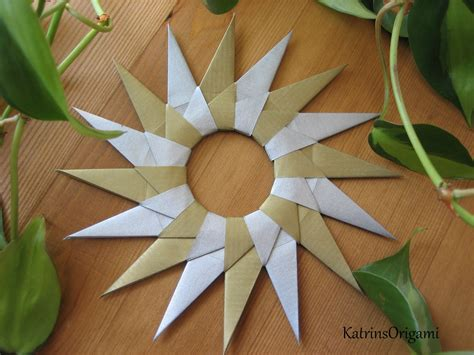 Origami 16 Point - origami die kunst des papierfaltens 16point mandala