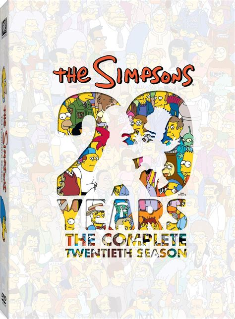 Dvd Simpsons The Boxset Original the complete twentieth season simpsons wiki fandom powered by wikia
