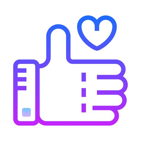 Like A like icon free at icons8