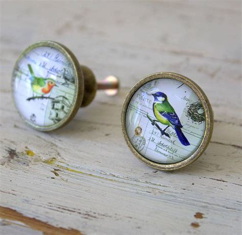 Bird Drawer Knobs by Set Of Two Bird Drawer Knobs By Ella