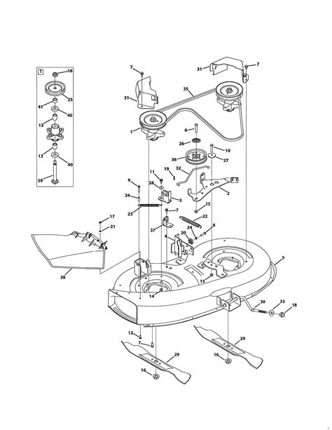Mtd model 13A2775S000 lawn, tractor genuine parts
