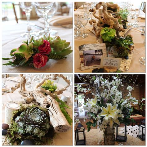 grapevine floral design home decor the succulent wedding decor at the stone house at stirling