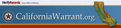 California Search Warrant California Warrants