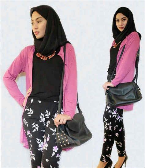 Maxi Kunara Satin Hitam Size L new item gamis masa kini gamis trend 2015 baju gamis
