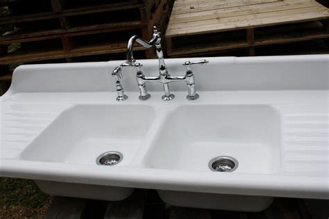 cast iron sink drain kitchen sink with drainboard cast iron