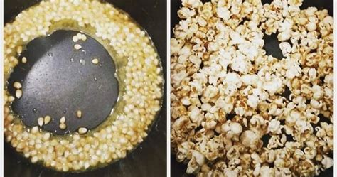 buat popcorn mudah  gas habis resepi periuk noxxa