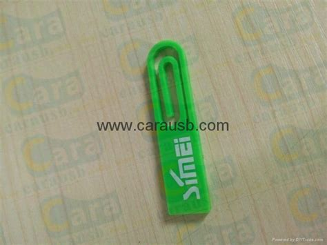 Direct Buy Giveaway - carausb plastic mini paperclip usb flash memory paper clips giveaways print logo