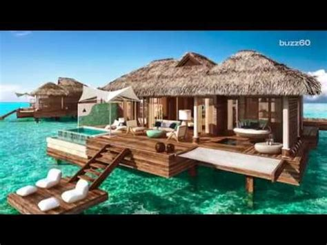 bali bungalow hotel bungalows water new overwater bungalows in jamaica