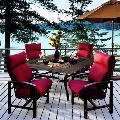lakeside seating cushion patio furniture by tropitone