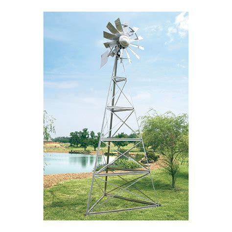 outdoor water solutions windmill aerator ft