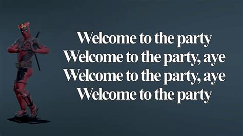 lil pump welcome to the party lyrics diplo welcome to the party twerk lyrics video ft
