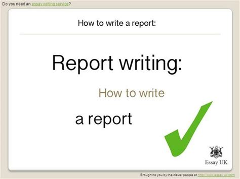 how to write a report sle how to write a presentation paper 28 images how to