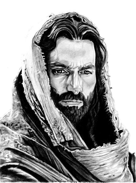 Drawing Jesus by Jim Caviezel As Jesus By Khinson On Deviantart