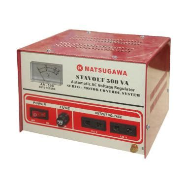 matsugawa stavolt voltage stabilizer mar 500 spec dan