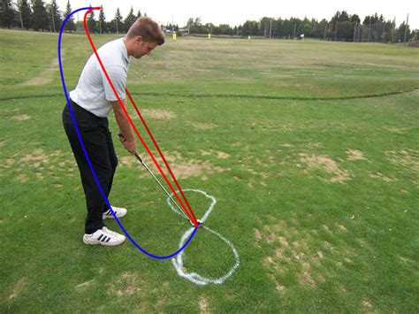golf driver swing path pull slice try a the sidehill drill sirshanksalot com