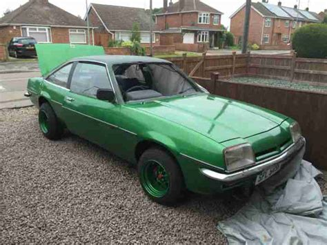 Opel Car For Sale by Opel 1977 Manta 1900 Auto Sport Grean Car For Sale