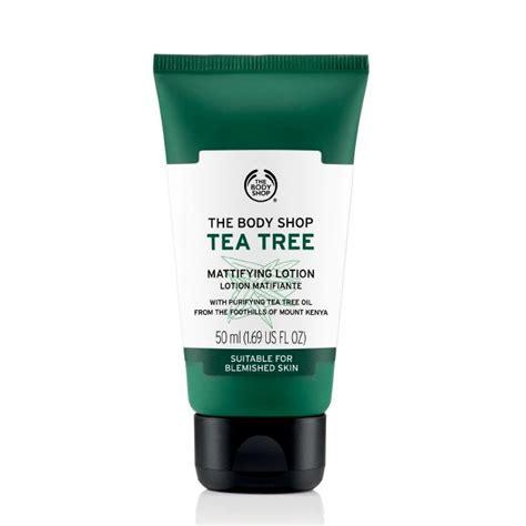 Pelembab Tea Tree The Shop the shop tea tree lotion 50ml elevenia