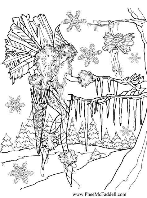 icicles colouring pages