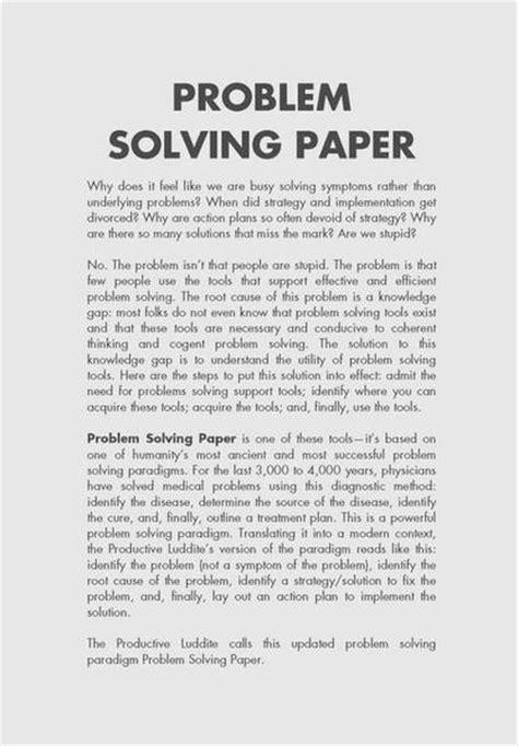 problem solution research paper topics problem solving essay sles 28 images problem solution