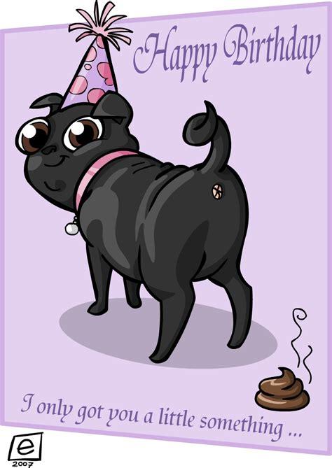 birthday pug images birthday pug by e4animation on deviantart
