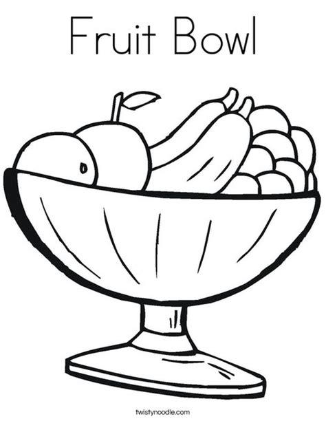 fruit bowl coloring page fruit bowl coloring page twisty noodle