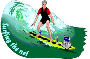 scatter surfing the net