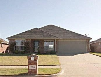 708 s castle ridge ln mustang ok 73064 foreclosed home