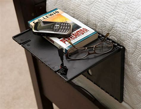 shelf is a temporary side table you can set up in