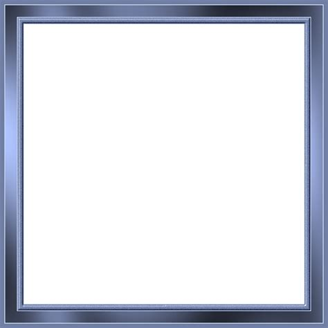 cool frame free illustration blue shiny metallic cool frame