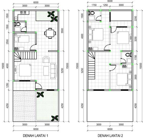 denah rumah minimalis 2 lantai type 90 model rumah minimalis terbaru