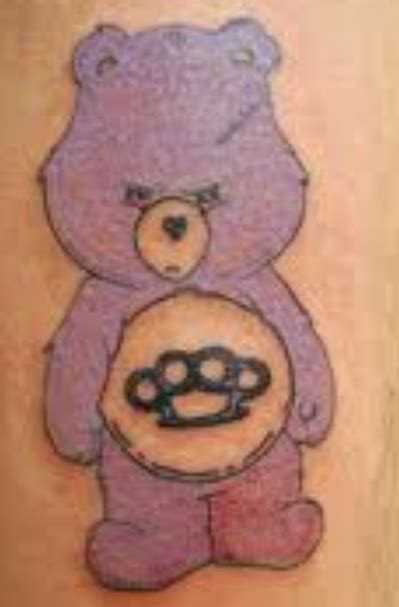 care bear tattoos care care bears tattoos