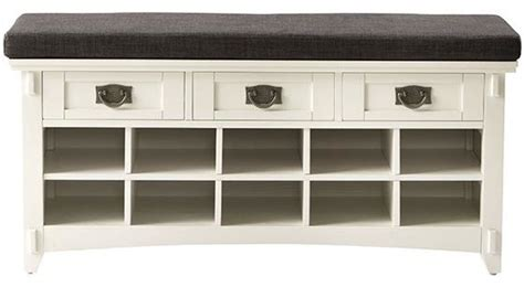artisan bench with shoe storage artisan bench with shoe storage white traditional