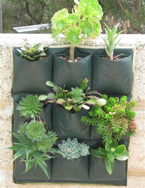 Jual Wall Planter Bag jual wall planter bag 9 kantong bibit
