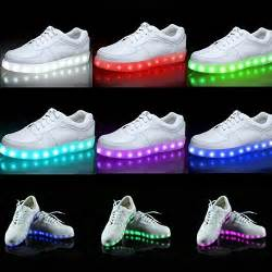 color sneakers acever gift led shoes with color lights