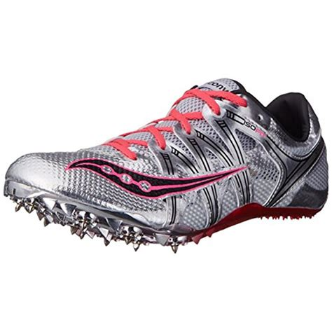 athletic spikes shoes saucony 5730 womens showdown track spikes running shoes