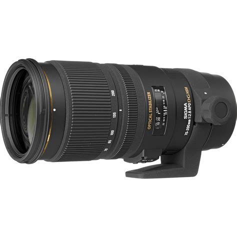 Sigma Lens For Canon sigma 70 200mm f 2 8 ex dg apo os hsm for canon 589101 b h