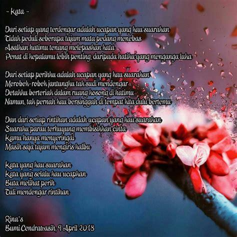 Tentang Kita 1000 kumpulan puisi cinta romantis sedih islami